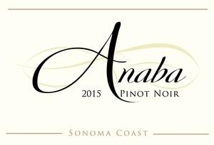 Anaba Sonoma Coast Pinot Noir