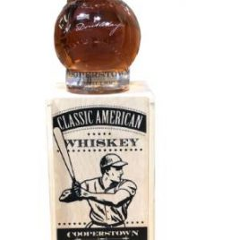Cooperstown Abner Doubleday's Baseball Whiskey