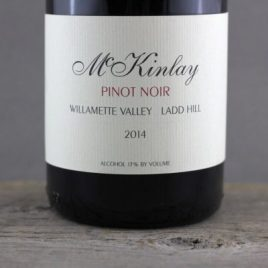 McKinlay Ladd Hill Willamette Valley Pinot Noir