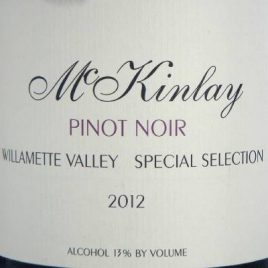 McKinlay Special Selection Willamette Valley Pinot Noir