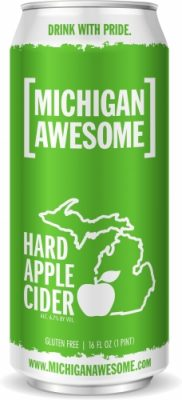 Michigan Awesome Apple Hard Cider