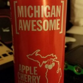 Michigan Awesome Michigan Awesome Cherry Hard Cider