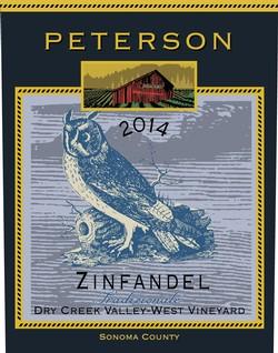 Peterson Winery Dry Creek Valley Tradizionale Zinfandel