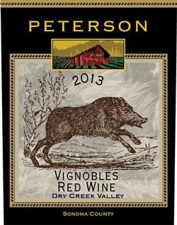 Peterson Winery Dry Creek Valley Vignobles Red Blend