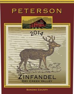 Peterson Winery Dry Creek Valley Zinfandel