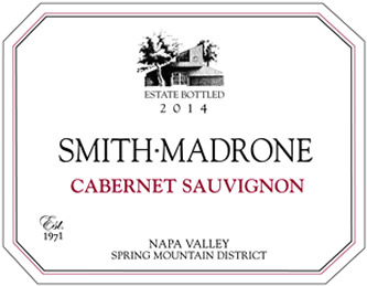 Smith-Madrone Spring Mountain Napa Valley Cabernet Sauvignon