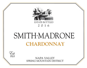 Smith-Madrone Spring Mountain Napa Valley Chardonnay