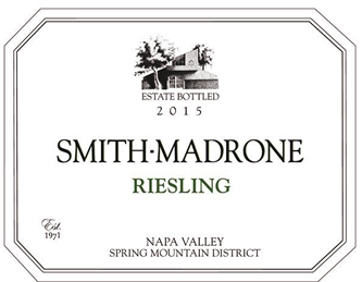 Smith-Madrone Spring Mountain Napa Valley Riesling