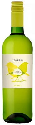 Two Birds One Stone Blanc