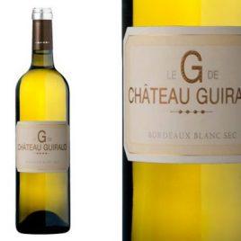 """""""Le 'G' de Guiraud"""" Bordeaux Blanc"""