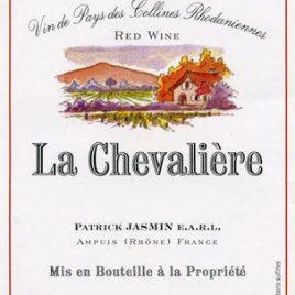 """Vin de Pays de Collines Rhodaniennes """"La Chevaliere"""" Rouge"""