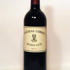 Château Cordet Margaux Bordeaux Rouge